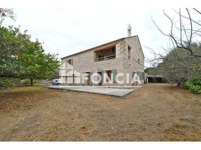 Maison 9 pi ces vendre uzes 30700 303 m2 foncia for Construction maison uzes