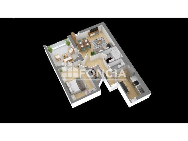 appartement 2 pi ces vendre bordeaux 33100 39 m2 foncia. Black Bedroom Furniture Sets. Home Design Ideas