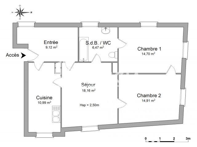 Appartement à louer, Obernai (67210)