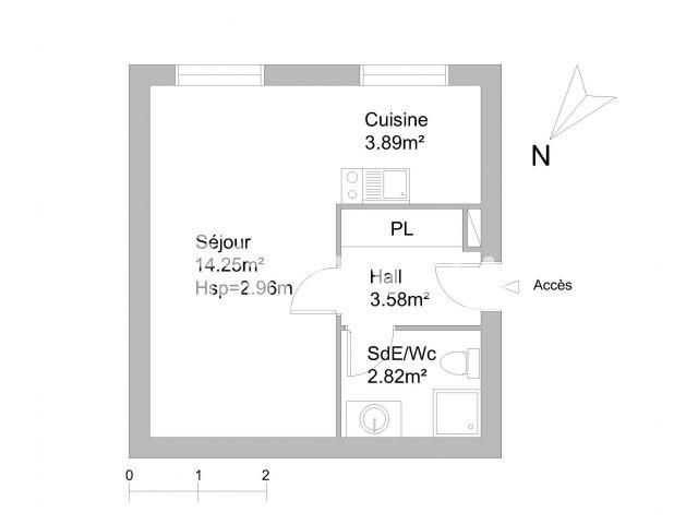 Appartement à louer, Lille (59000)