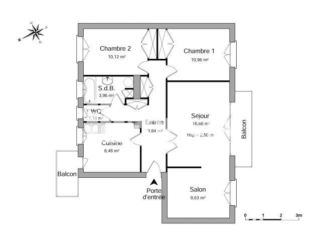 Appartement 4 pi ces louer tarbes 65000 m2 foncia - Refus location appartement ...