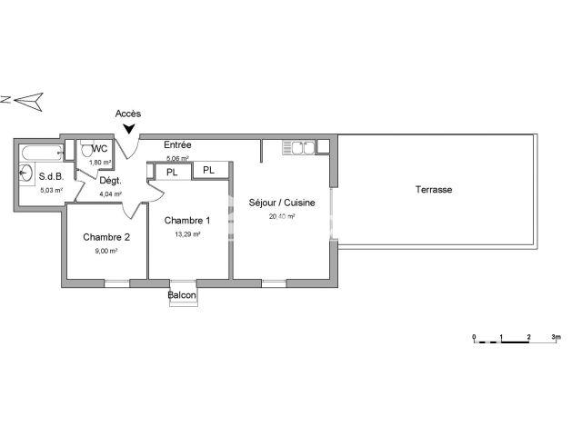 Appartement 3 pi ces louer saint jean de braye 45800 m2 foncia - Refus location appartement ...