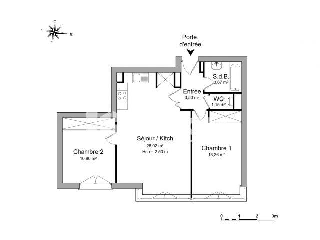 appartement 3 pi ces louer annemasse 74100 58 5 m2 foncia. Black Bedroom Furniture Sets. Home Design Ideas