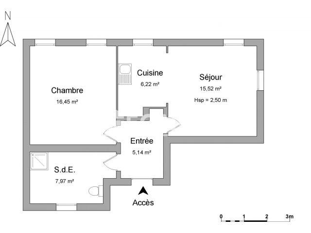 Appartement meublé 2 pièces à louer - Strasbourg (67000) - 50.33 m2 ...