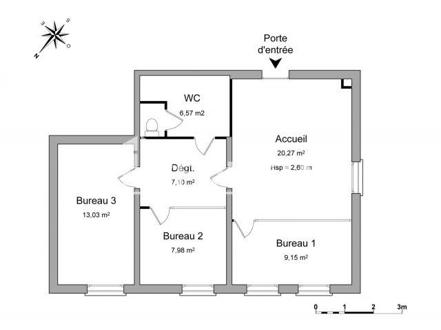 local commercial louer lorient 56100 64 1 m2 foncia. Black Bedroom Furniture Sets. Home Design Ideas