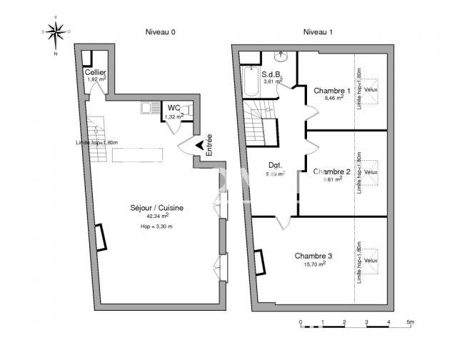 appartement 4 pi ces louer bagnols sur ceze 30200 m2 foncia. Black Bedroom Furniture Sets. Home Design Ideas