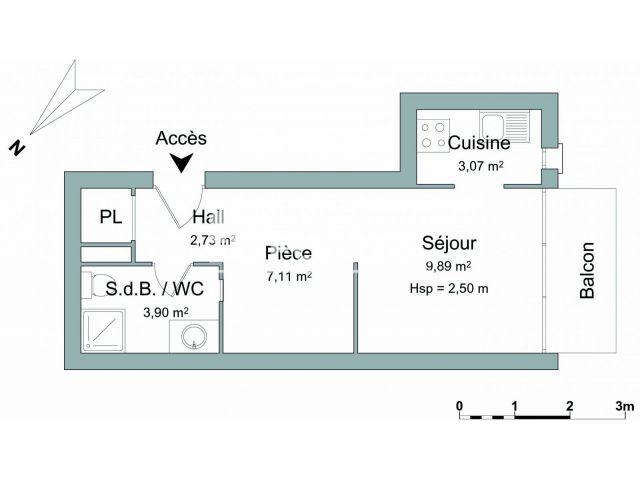Appartement Meuble 1 Piece A Louer Aix En Provence 13100 26 7