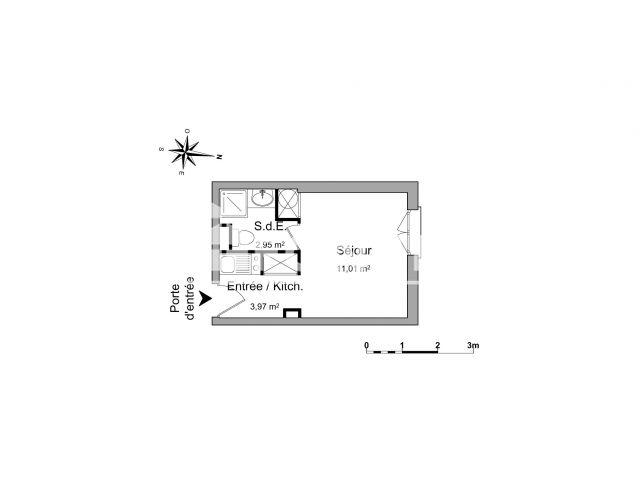 Appartement meubl 1 pi ce louer aix en provence 90 me for Location meuble aix en provence