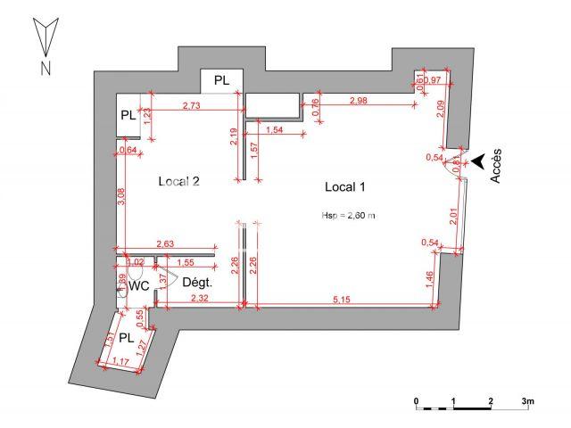 local commercial louer perpignan 66000 48 9 m2 foncia. Black Bedroom Furniture Sets. Home Design Ideas