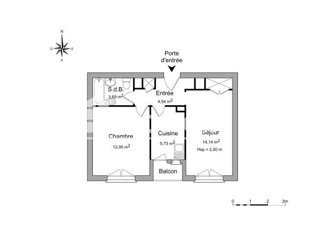 Appartement à louer, Grenoble (38100)