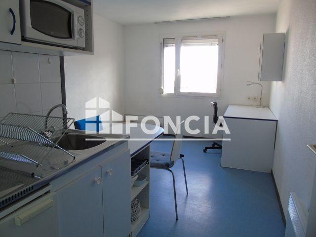 appartement meubl 1 pi ce louer villeurbanne 69100 18 4 m2 foncia. Black Bedroom Furniture Sets. Home Design Ideas