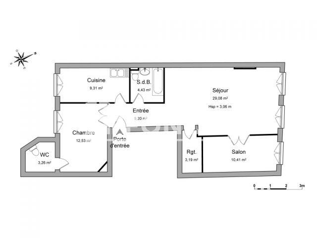 Appartement 3 pi ces louer nancy 54000 m2 foncia - Refus location appartement ...