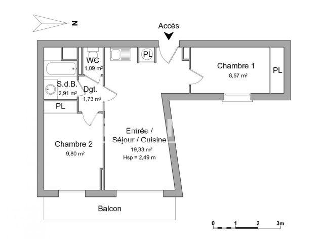 Appartement à louer, Nice (06300)
