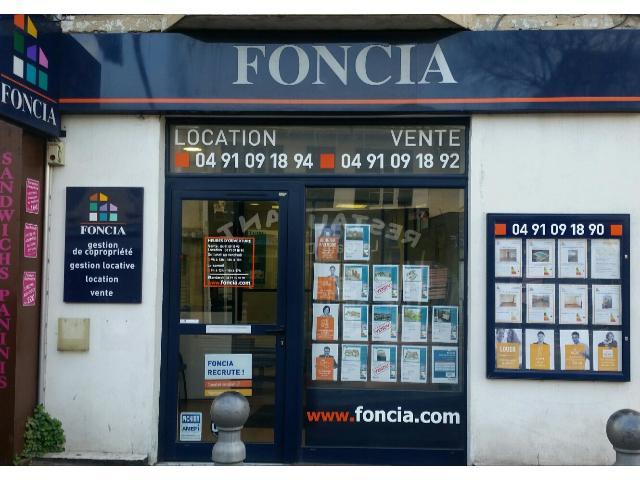 Agence immobilière Agence FONCIA Vente/achat Immobilier Marseille 10 Pont Vivaux - FONCIA Transaction Bouches-du-Rhône