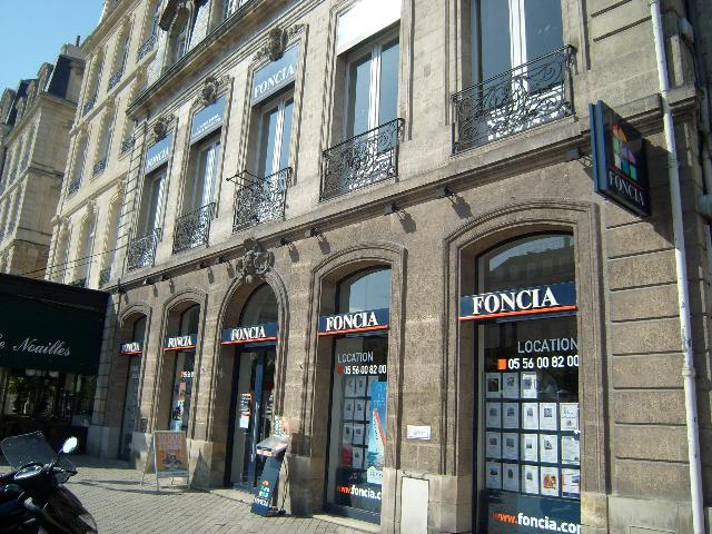 Agence immobili re bordeaux 33000 foncia transaction for Agence immobiliere bordeaux cauderan