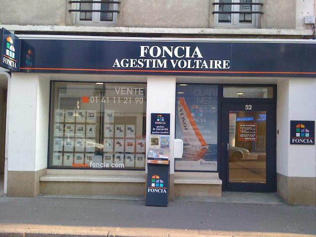Agence immobilière FONCIA Agestim Voltaire - FONCIA Transaction Hauts-de-Seine