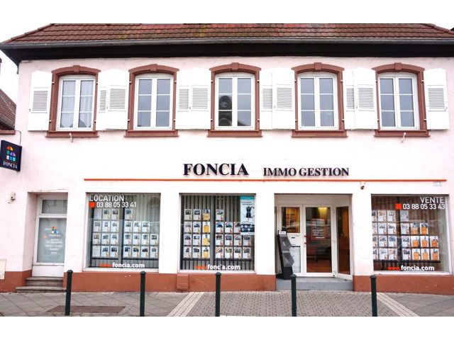 Agence immobilière FONCIA Strasbourg - FONCIA Transaction Bas-Rhin