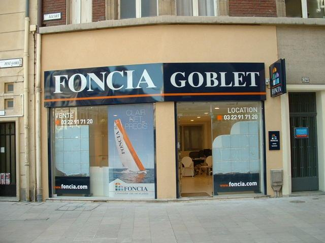 Agence immobili re amiens 80000 foncia goblet 26 rue allart for Agence somme