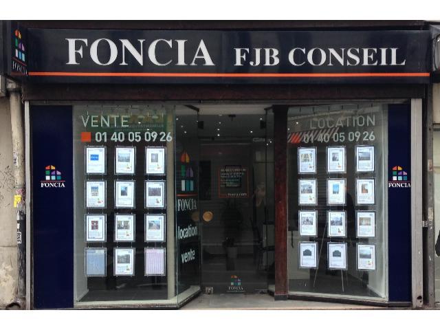 Agence immobilière FONCIA Fjb Conseil - FONCIA Transaction Paris