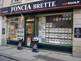 Agence immobilière FONCIA Brette - FONCIA Transaction Eure-et-Loir