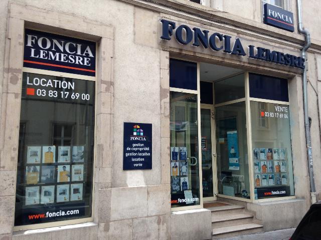 Agence immobilière FONCIA Nancy Michottes - FONCIA Transaction Meurthe-et-Moselle