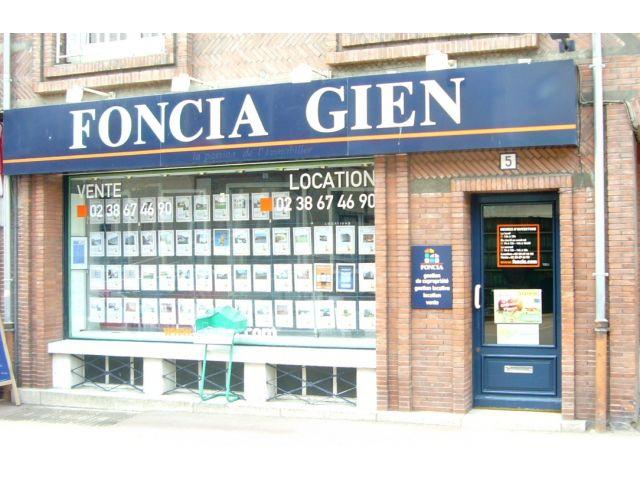 Agence immobilière FONCIA Transaction Gien - FONCIA Transaction Loiret