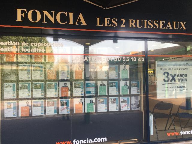 Agence immobilière FONCIA Les 2 Ruisseaux - FONCIA Transaction Yvelines