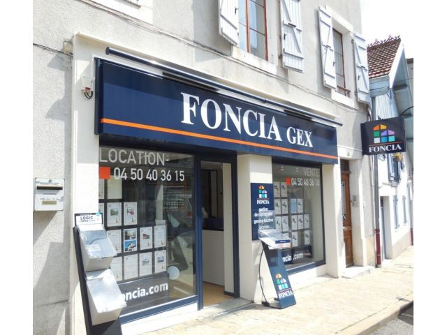 Agence immobilière FONCIA Transaction Gex - FONCIA Transaction Ain