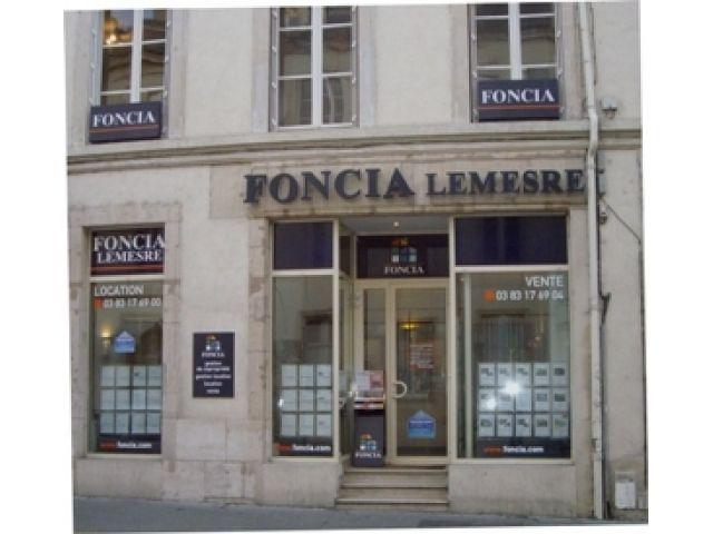Agence immobilière FONCIA Transaction Nancy Michottes - FONCIA Transaction Meurthe-et-Moselle