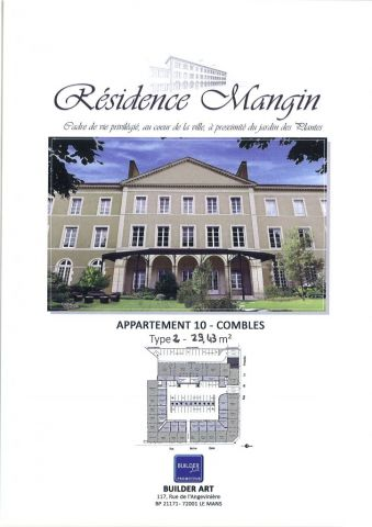 appartement à vendre sur le mans