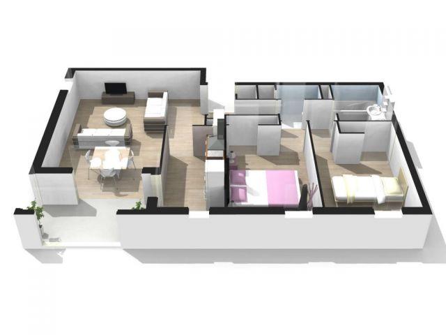 Achat appartement avec parking garage box merignac for Achat box garage lyon
