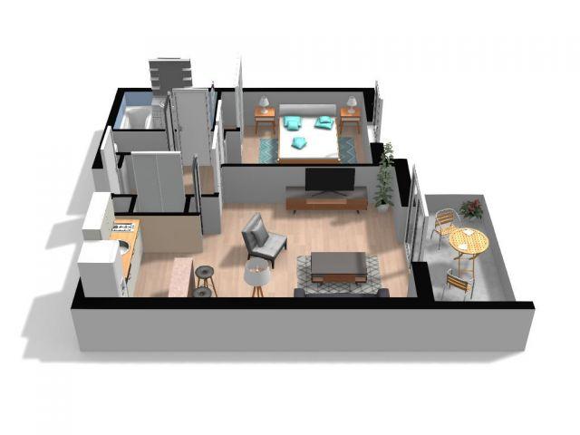 Appartement à vendre sur Saint Yzan De Soudiac