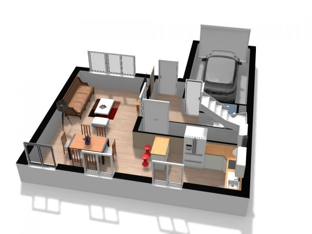 Achat maison avec terrain jardin meurthe et moselle 54 for Achat maison 54