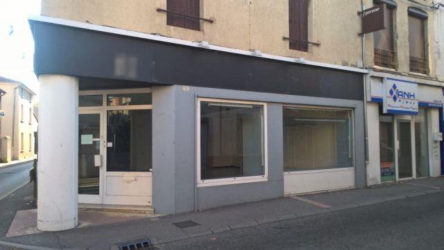 Local commercial à vendre sur Le Peage De Roussillon