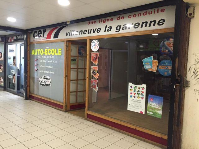 Local commercial à louer sur Villeneuve-la-garenne