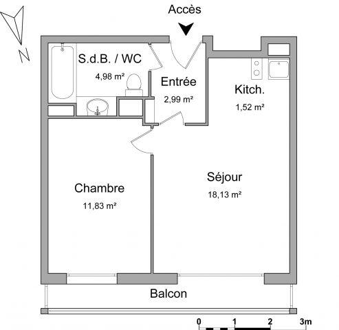 Appartement à louer sur Montrouge