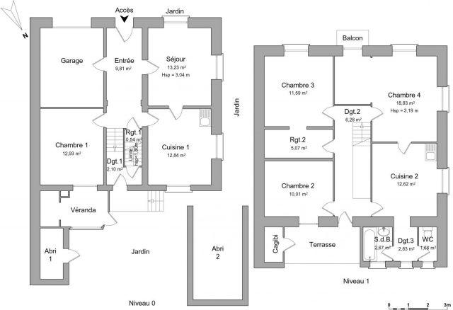 Maison 6 pièces à louer