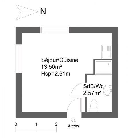 appartement meublé à louer sur bagnols-sur-ceze