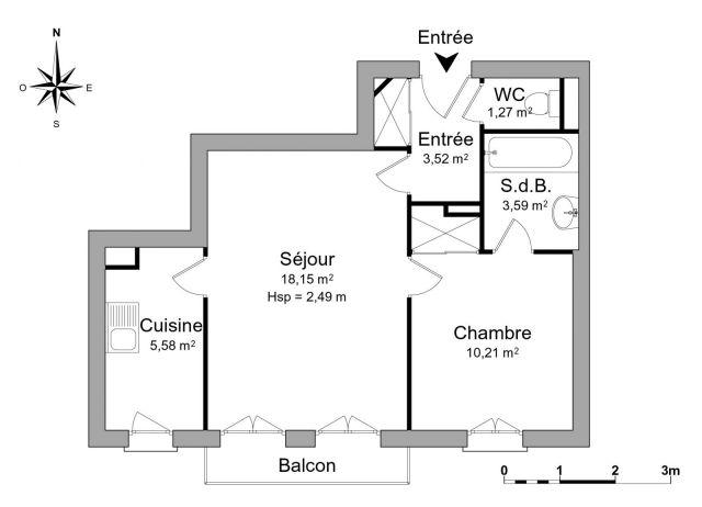 appartement à louer sur le plessis-robinson