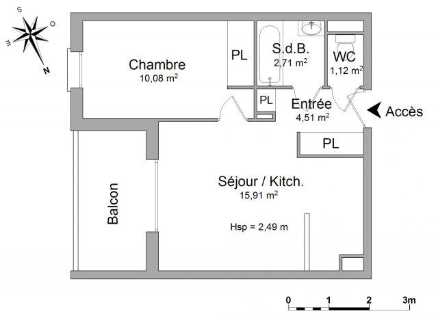 appartement à louer sur tarnos