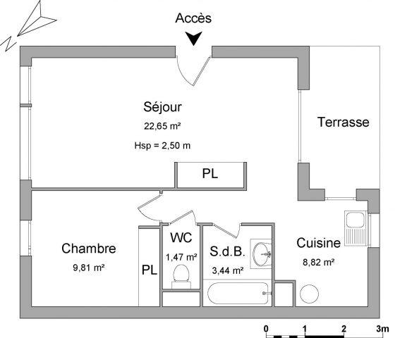 Appartement à louer sur Saint Pierre D'irube
