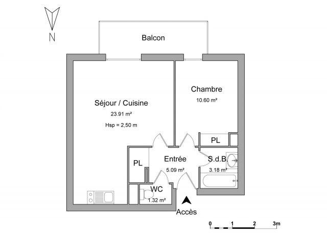 Appartement à louer sur Brive La Gaillarde