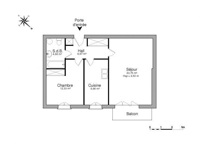 appartement à louer sur port marly