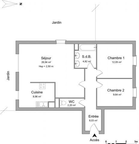 Appartement à louer sur Semur En Auxois