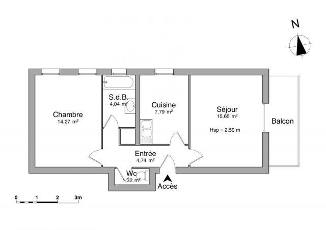 appartement à louer sur buhl