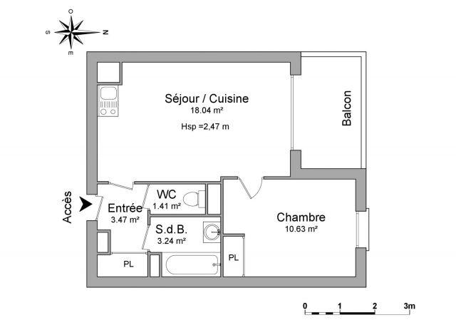 Appartement à louer sur Vesoul