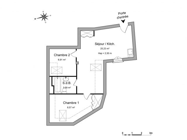 appartement à louer sur cormeilles en parisis