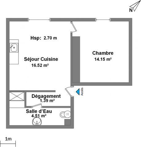 Appartement à louer sur Aubervilliers.