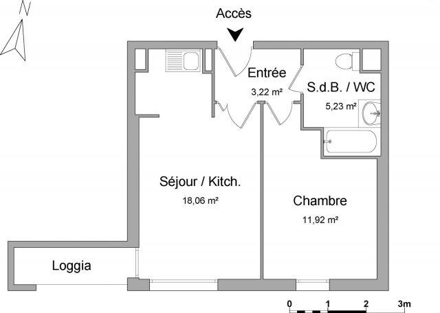 Appartement à louer sur Eragny Sur Oise