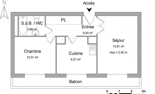 Appartement à louer sur Le Pont De Claix